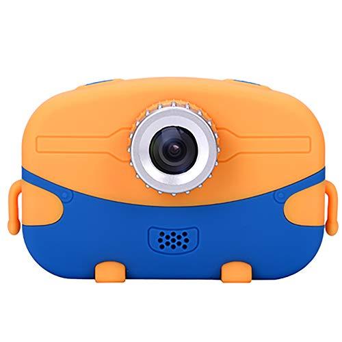 SHARESUN Cámara Digital para niños Cámara Digital 20MP HD 1080P con cámara Dual para Regalos de niñas y niños - Videocámara de Video en Pantalla Grande de 2,0 Pulgadas con Juego,Blue,32