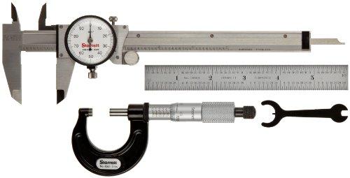 Starrett s909z Zoll Basic Präzisions Mess-Werkzeug Set