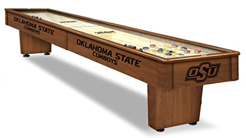 Why Choose Holland Bar Stool Co. Oklahoma State 12' Shuffleboard Table by The