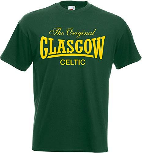Glasgow Celtic Original T-Shirt | Celtic Bhoys Collection (Medium) Green