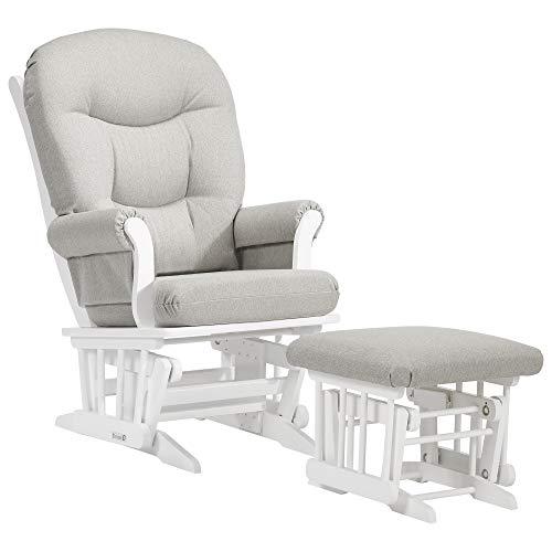 Dutailier Adele 0337 Glider Chair and Ottoman (Sleigh Rocker)