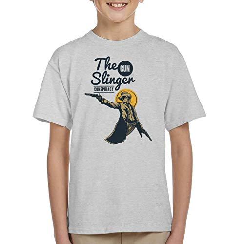 Cloud City 7 The Gun Slinger samenzwering kind T-Shirt