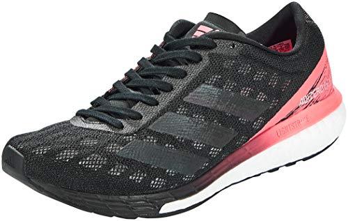 adidas Adizero Boston 9 w, Zapatillas Mujer, NEGBÁS/NEGBÁS/ROSSEN, 38 EU