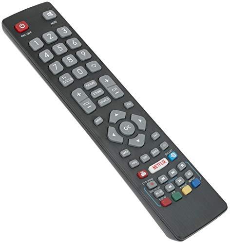 BLFRMC0008 Ersatz Fernbedienung - VINABTY Fernbedienung für Blaupunkt HD LED TV 43134M 48148O 55138M 32148M 55/138MGB11B4FEGPXUK 43-134M-GB-11B-FEGUX-UK 32/148O-GB-11B-EGDU-UK 40/133MWB11BFEGPXUK