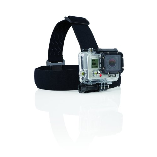 Navitech Helmet/Headband/Head Strap Mount Compatible with The YI 4K Action Camera