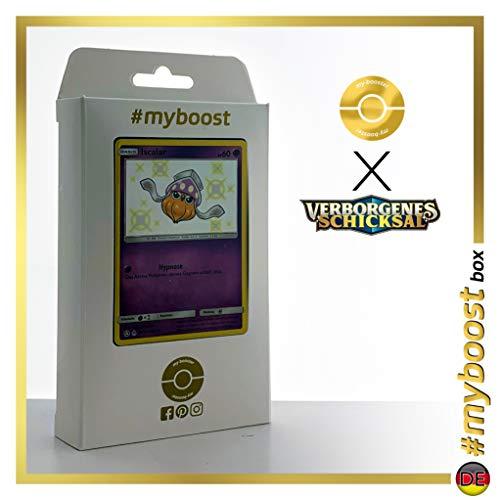 Iscalar (Sepiatop) SV17/SV94 Chromatique - #myboost X Sonne & Mond 11.5 Verborgenes Schicksal - Coffret de 10 Cartes Pokémon Allemandes
