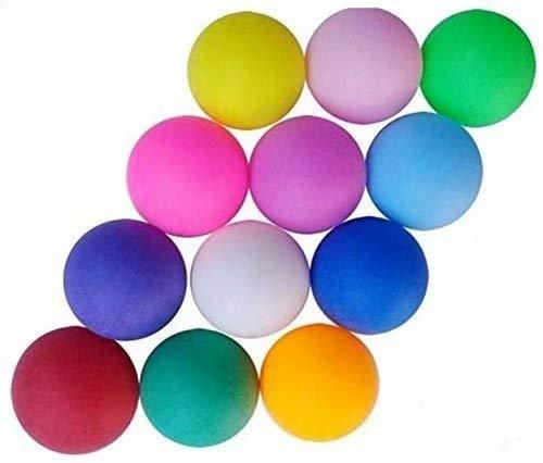 LINSUNG Paquete de 10 pelotas de ping pong ping pong Ideal para juegos avanzados, para adultos y ni?os, mezcla de colores 10pcs