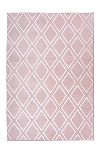 Arte Espina Teppich Monroe 300 Rosa, Größenauswahl:160 x 230 cm