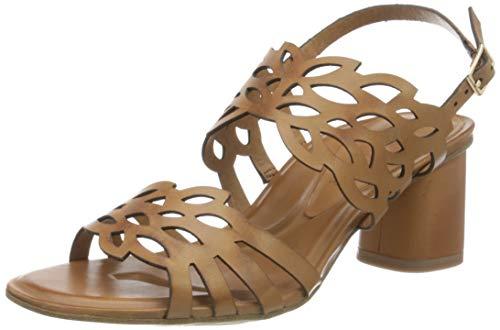 TAMARIS Damen 28051-34 Sandale mit Absatz, Braun(Cognac), 38 EU