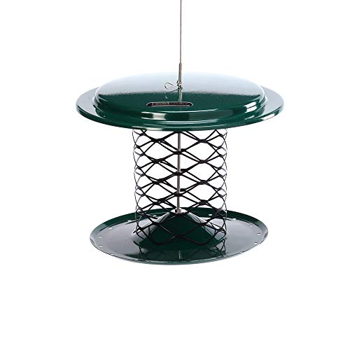 Birds Choice XWPF Whole Peanut Feeder Green in Color