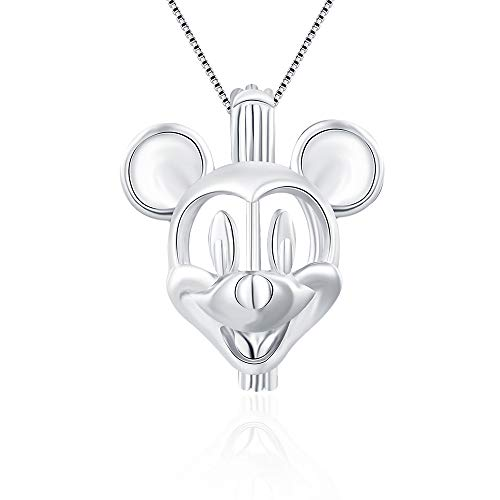 LGSY Lovely Mouse Cage Pendant Crafting Charm for...