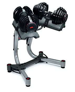 Bowflex Selecttech 552 with Stand