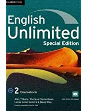 English Unlimited Level 2 Coursebook with Online Workbook and Workbook Special Updated Saudi Edition Paperback – September 6, 2018