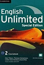 English Unlimited Level 2 Coursebook with Online Workbook and Workbook Special Updated Saudi Edition Paperback – September...
