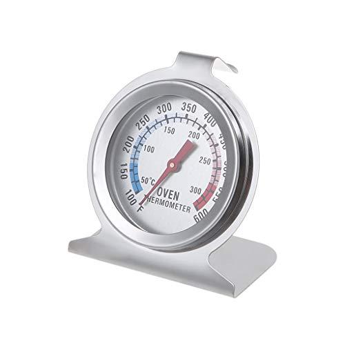 BIlinli Zifferblatt Edelstahl Backofenthermometer Temperaturanzeige Tester Meter Küche Backzubehör Kochthermometer