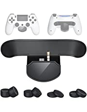 PS4 Paddles, OBKBO PS4 Controller Wireless Back Button Attachment with MODS for FPS/RPG/FTG Games, Front OLED Screen PS4 Extra Button with 8 Thumb Grips Included