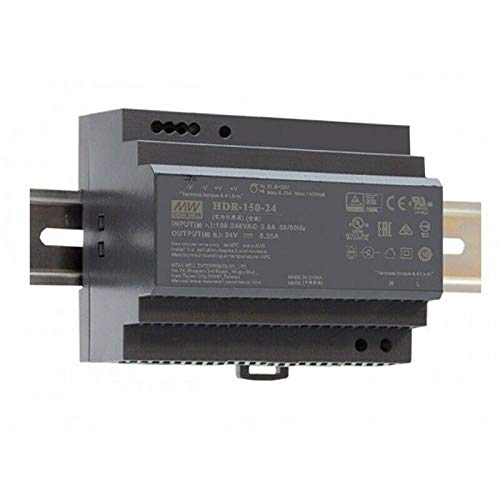 Hutschienen Netzteil 136W 12V 11,3A ; MeanWell HDR-150-12 ; DIN-Rail Trafo