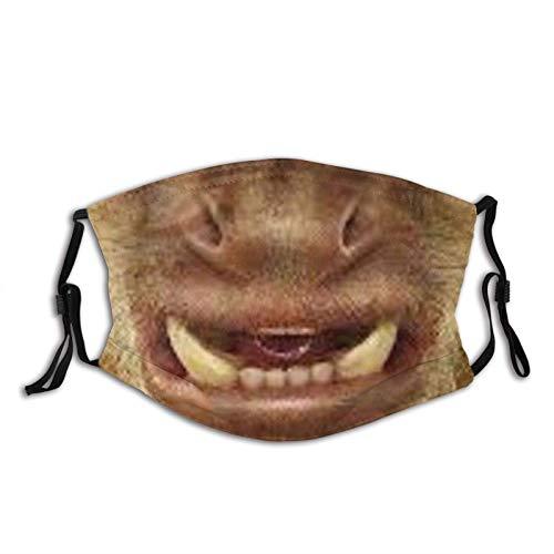 Mascarilla facial ajustable transpirable reutilizable al aire libre...
