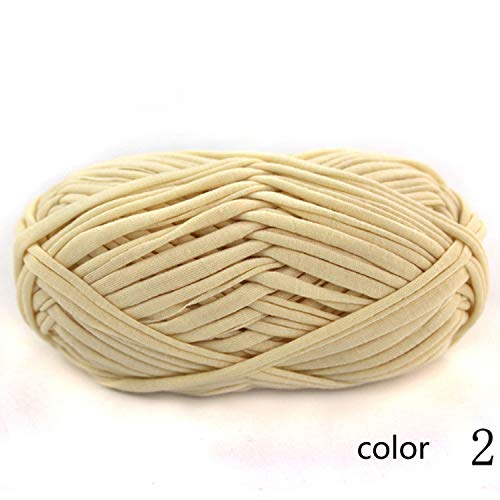 Mantón de la bufanda Hilo para tejer Hilo Cableado Alambre Tejido a mano Estera para piso Paño de bricolaje Línea de hilo de alfombra de hilo 1 / 0.3 NM 1 bola alrededor de 100 g 10 posible selección