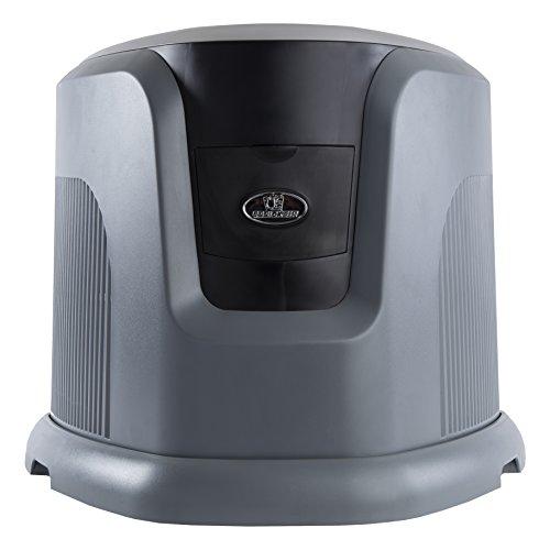 AIRCARE EA1201 Console Evaporative Humidifier for 2400 sq. ft, Grey/Black