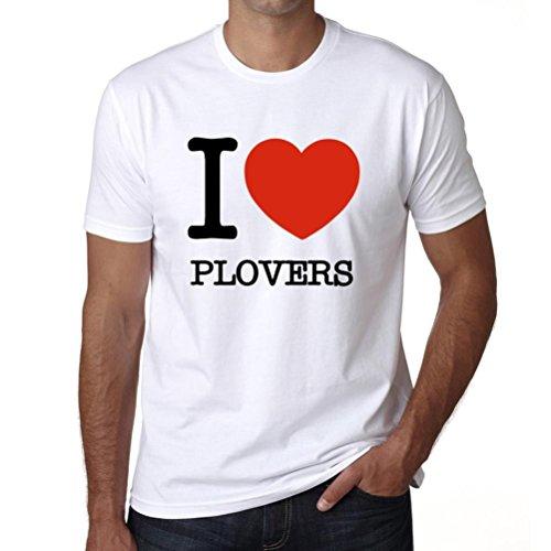 Cityone T Shirt Magliette Uomo Manica Corta Plovers Uomo Maglietta M Bianca