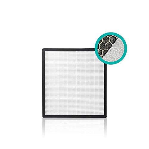 Alen BreatheSmart A500/F700/F750/FIT50 Filter - HEPA Silver Carbon Replacement Filter for Mold, Bacteria, Chemicals - FF700-Silver-Carbon (1-Pack)