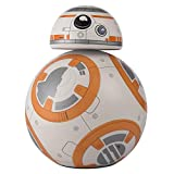 Disney Star Wars The Force Awakens BB8 LED Desktop Lamp, White/Orange