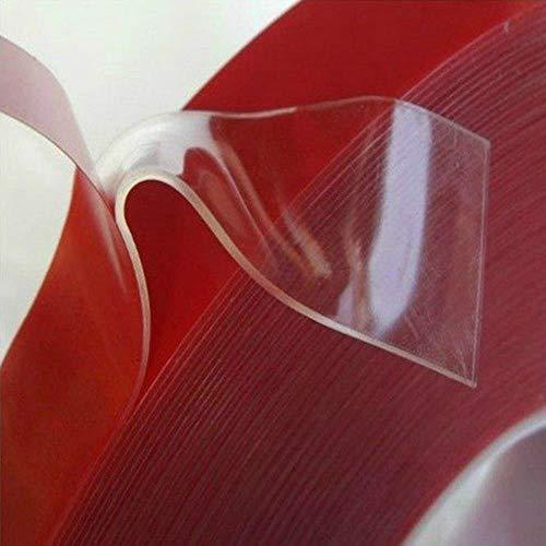3m Doppelseitige Mehrzweck starke klebriges Klebeband Transparent Acrylic Foam Tape-Wasserdicht Seamless Janusköpfig Band, USA, 8mm