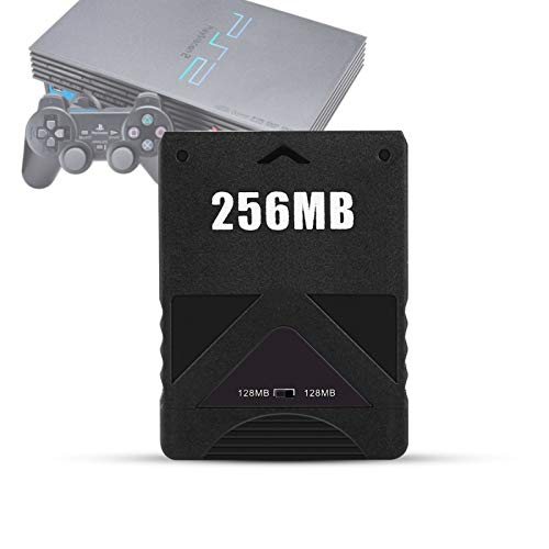 Yosoo Health Gear 256 MB Speicherkarte, PS2 High Speed Game-Speicherkarte(256M)