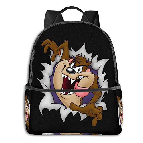 Looney Tunes Tasmanian Devil Taz Reise-Laptop-Rucksack Gr. One size, Schwarz