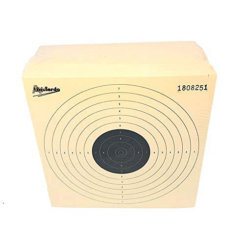 HEADSHOT Dianas de Aire comprimido carabina 10x10 Paquetes de 250 Unidades, Adultos Unisex, Mezcla, One Size