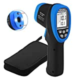 INFURIDER YF-1500 Non-Contact Infrared Thermometer,-58℉ to 2732℉ Dual Laser Temperature Gun Pyrometer 30:1 IR High Temp Gauge for Industry Kiln Oven Furnace【Not for Human】