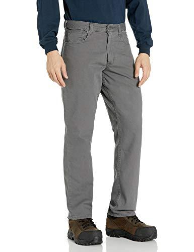 Carhartt Herren Rigby Five Pocket Pants, Gravel, W33/L32