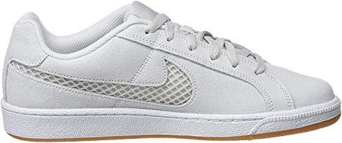 Nike Court Royale Premium, Zapatillas de Tenis para Mujer, Blanco (Platinum Tint/Platinum Tint/Half Blue 003), 38.5 EU