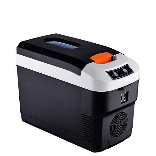 YUTGMasst Mini Refrigerador/Frigorífico Coche, 10L Electrica Nevera, Mudo,LCD,Pequeño Congelador Portátil,Refrigerador De Viaje...