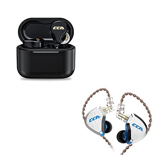 CCA C12 in Ear Monitor & CCA CC4 Hybrid Dynamic Driver Bluetooth Earbud