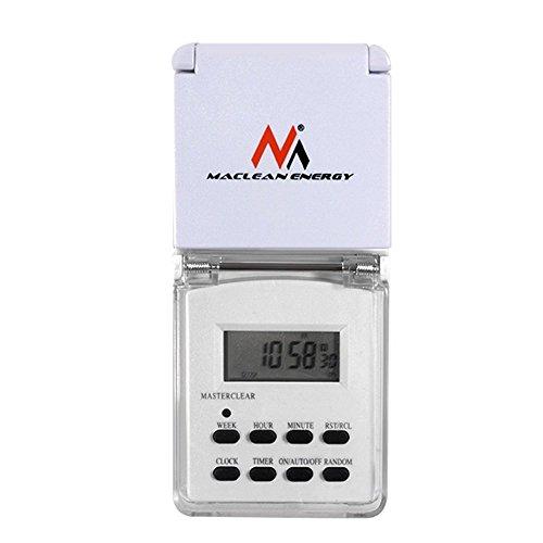 Minuterie numérique MCE05  économies d/'énergie 10 programmes prises socket