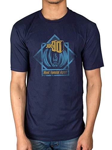 Joe 90 Most Special Agent - Camiseta de manga corta para hombre, diseño casual, color azul marino