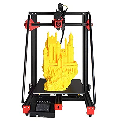 FDM 3D Printer Kit Pyramid A1.1 Titan Direct Drive, Silent Mainboard, Resume Printing, 3.5 inch LCD Touch Screen for Creative Artist, DIY Makers & School Use. Upgradable to BL Touch.
