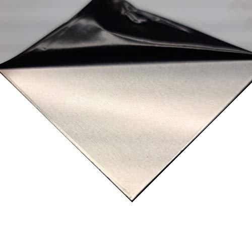온라인 금속 공급 5052-H32 알루미늄 시트 0.100 X 24 X 24 (보호 PVC)