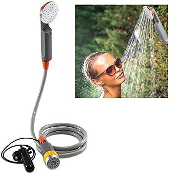 Ivation 6-Ft Hose Portable Camping Shower
