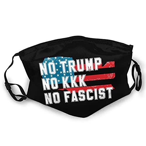 No Trump No Kkk No Fascist Usa Breathable Adult Dust Masks Washable And Reusable Face Masks Men And Women