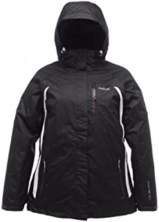 Regatta Women's Tessa 3 In 1 Jacket - Black, Size 14