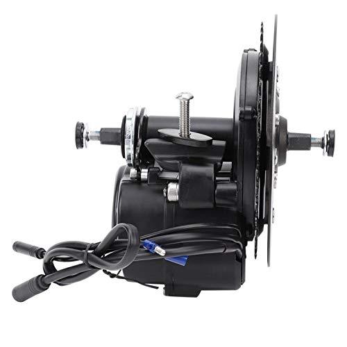 Kit de motor de bicicleta eléctrica, TSDZ-2 36V 500W Kit de conversión de motor de accionamiento medio de bicicleta eléctrica Reacondicionamiento de bicicleta eléctrica con pantalla VLCD5