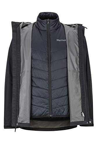 Marmot Men's Minimalist Component Jacket, Black, Large