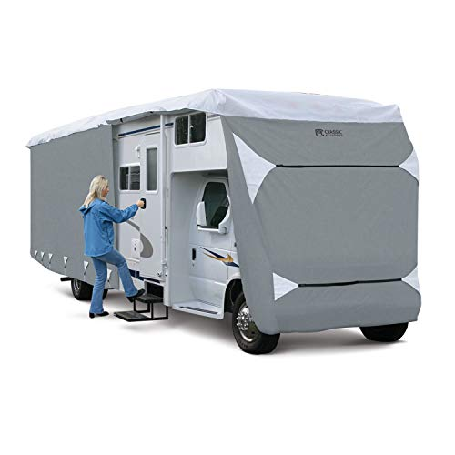 Classic Accessories Over Drive PolyPRO3 Deluxe Class C RV Cover, Fits 32