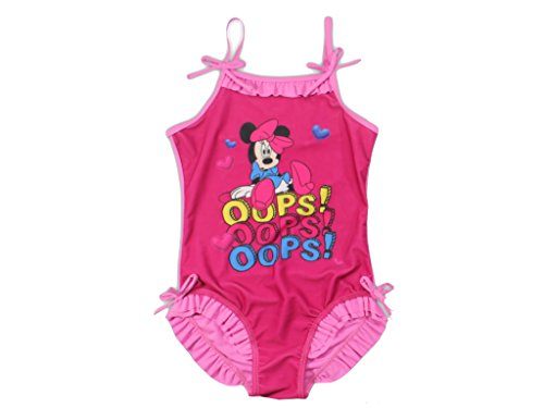 Minnie Mouse Disney Badeanzug pink (104/110)