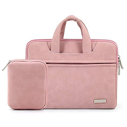 GCX- Borsa for Laptop Borsa for Protezione da 10/11/12/13 Pollici Borsa for Tablet Borsa for Custodia for Laptop Durevole (Color : Pink B, Size : 10 Inches)