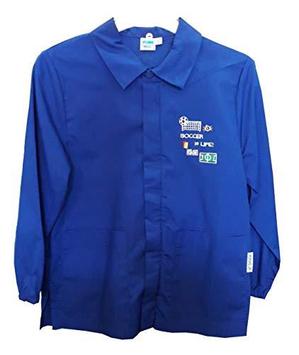 siggi Casacca Grembiule 33CS1580 Scuola Bambino Bluette 6/15 Anni (TG 75 ANNI 8/ALT. CM 128)