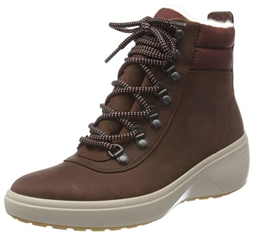 ECCO Damen Soft 7 Wedge Tred ChocolateChocolate Ankle Boot, Braun (Chocolate/Chocolate), 43 EU